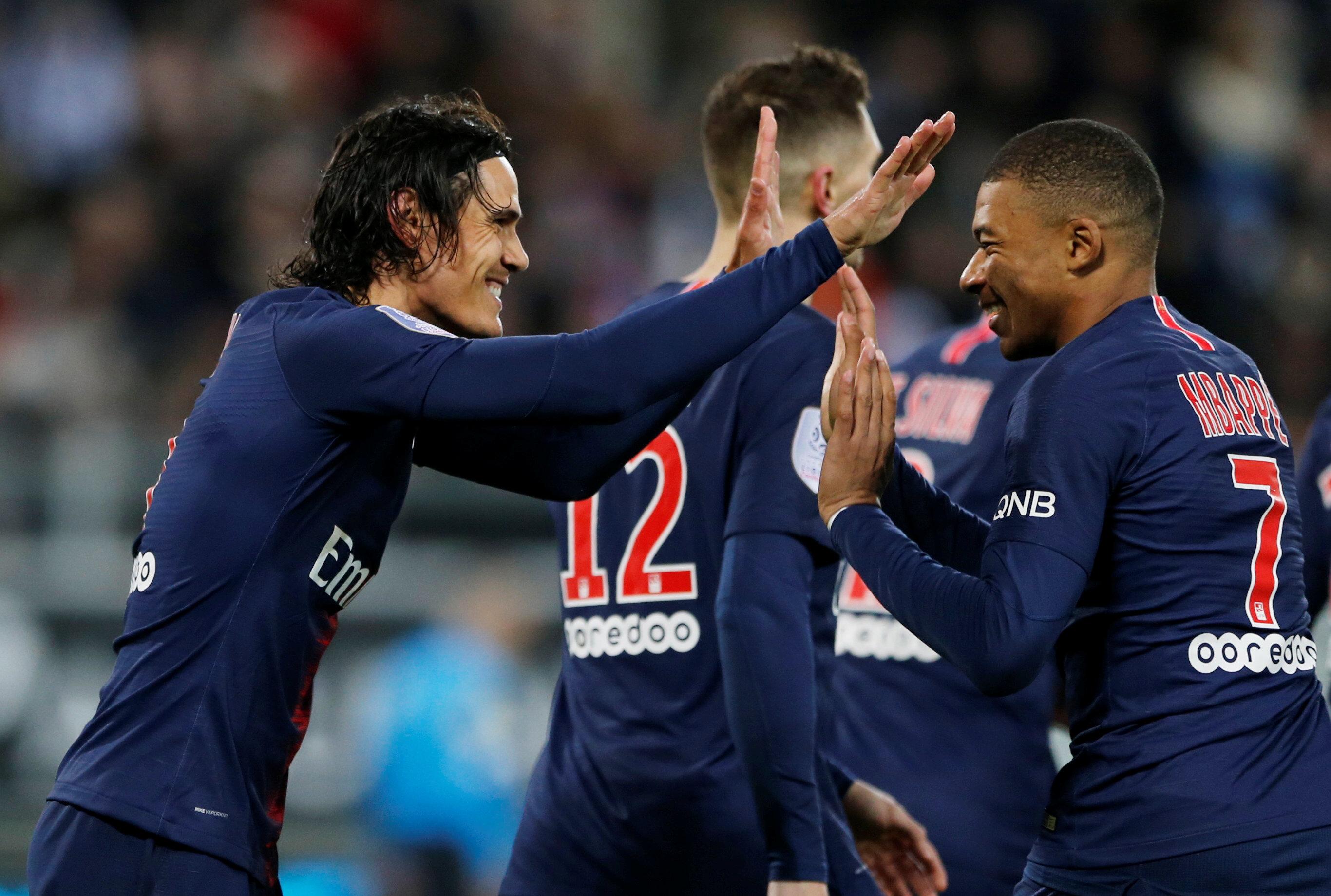 En fotos: El PSG resiste el juego brusco del Amiens y lo derrota al son de 3-0