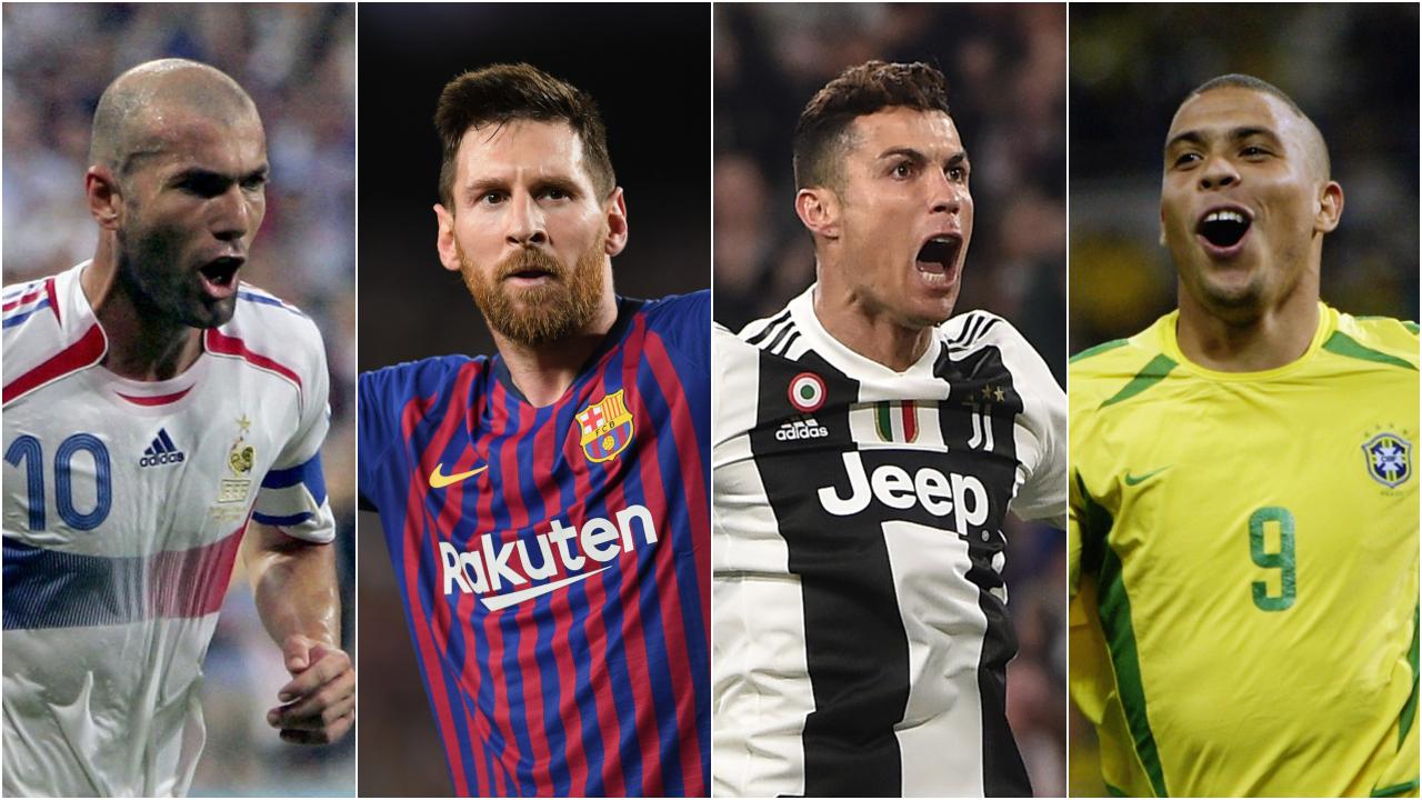 ¡Solo figuras! El Top 20 de los mejores jugadores de los últimos años
