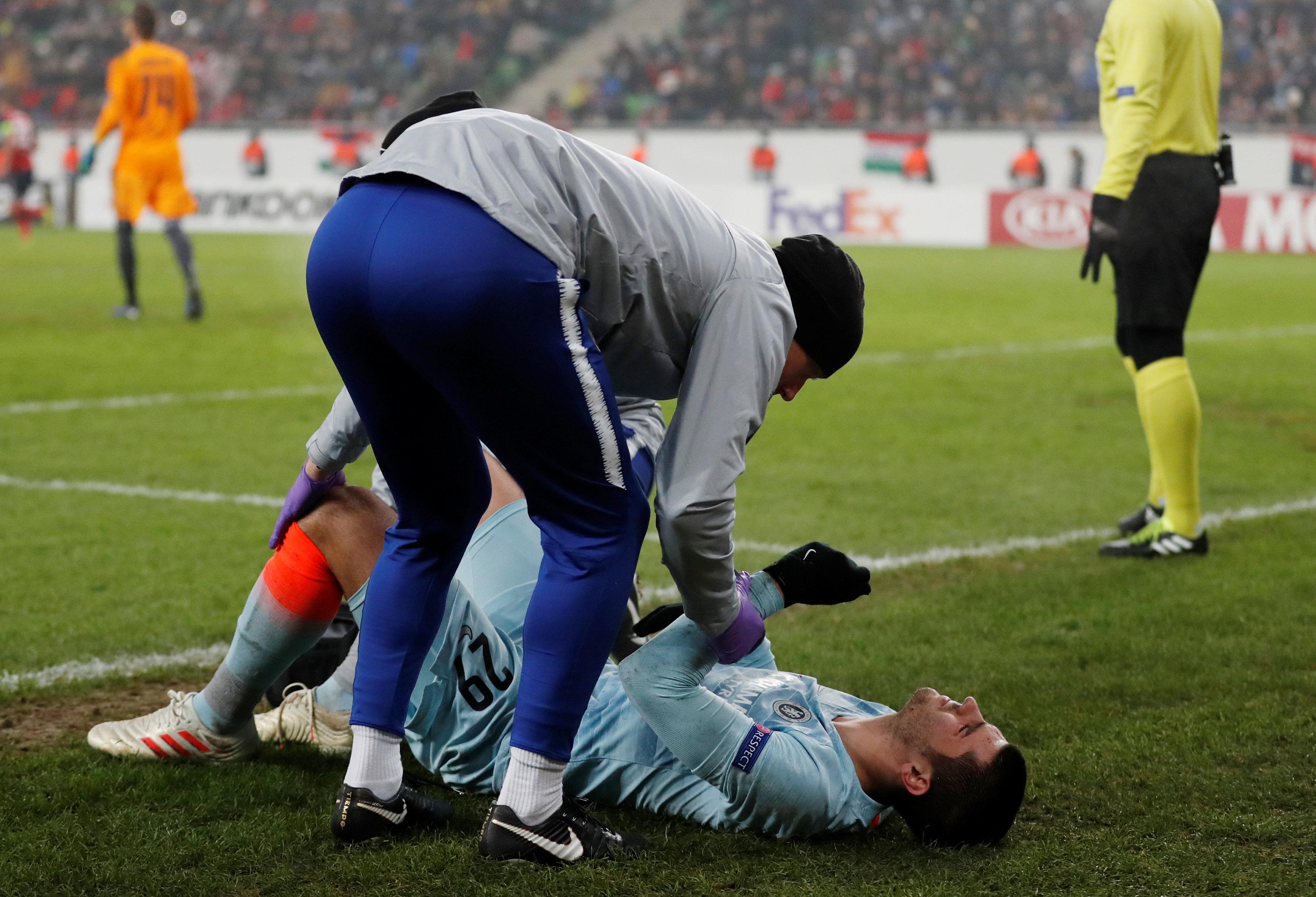 La lesión de Álvaro Morata que prendió las alarmas en el Chelsea