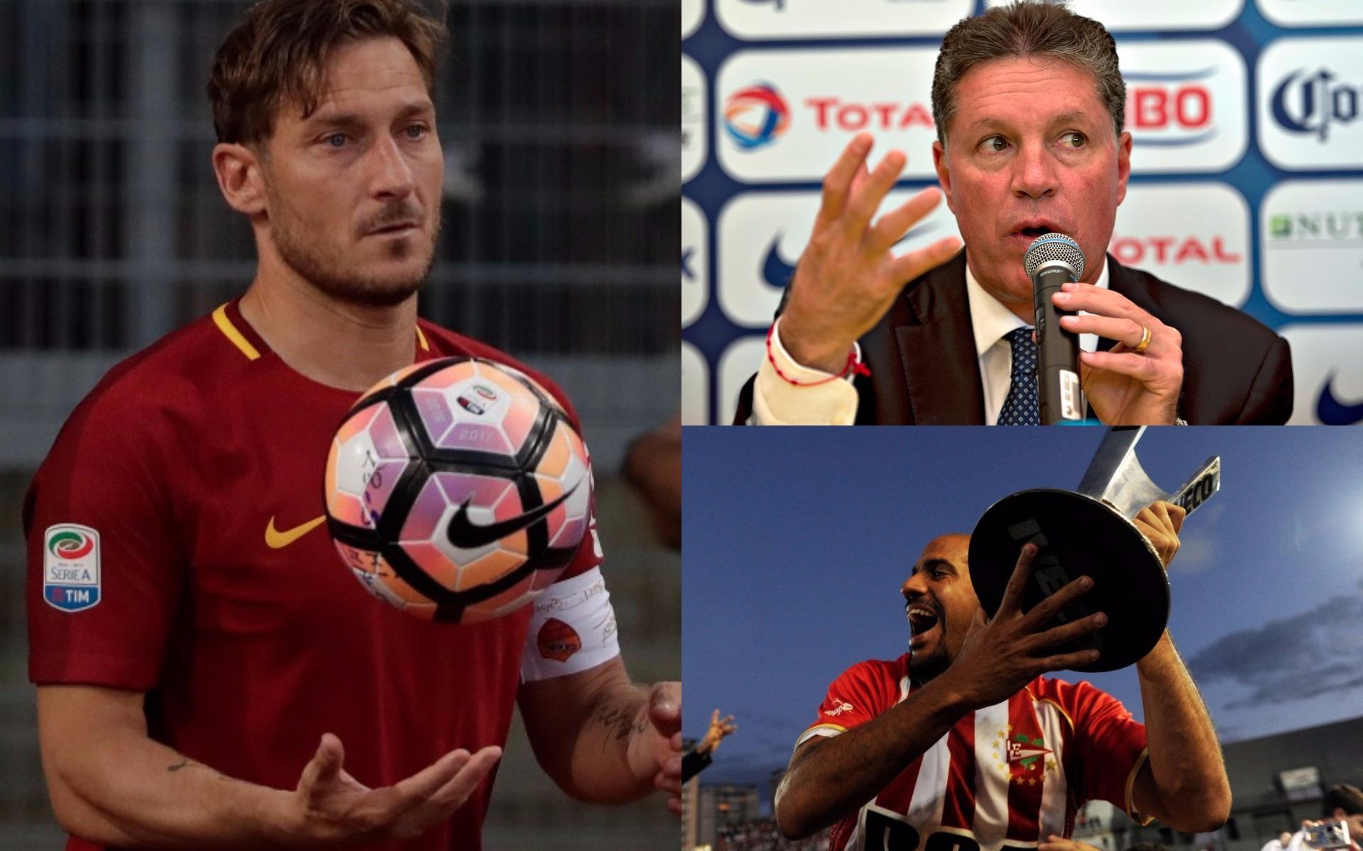 Grandes en la cancha y en el escritorio: Totti y otros futbolistas que han sido directivos