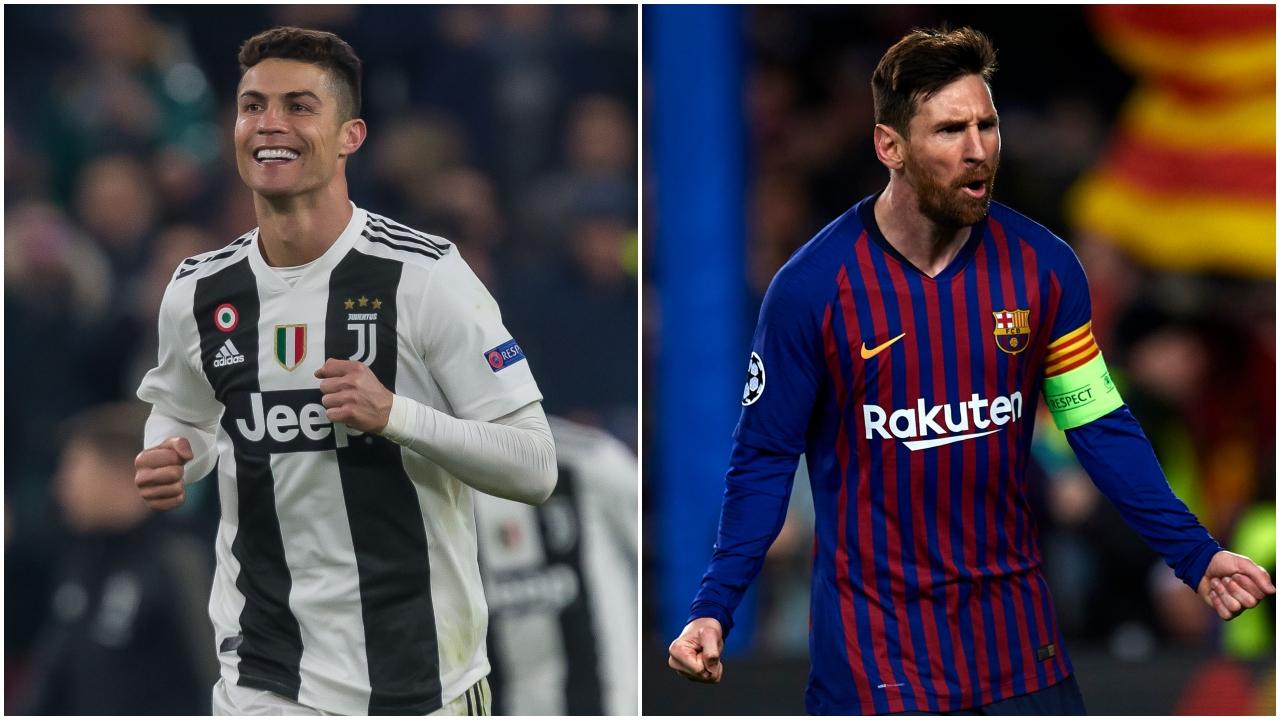 Cristiano y Messi, después de sus recitales, comandan el Equipo de la Semana de la Champions
