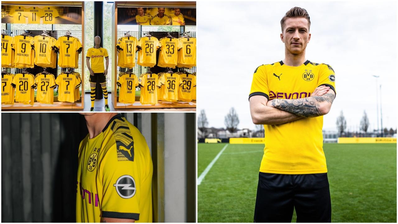Lista para estrenar: Borussia Dortmund presentó su playera de la próxima temporada