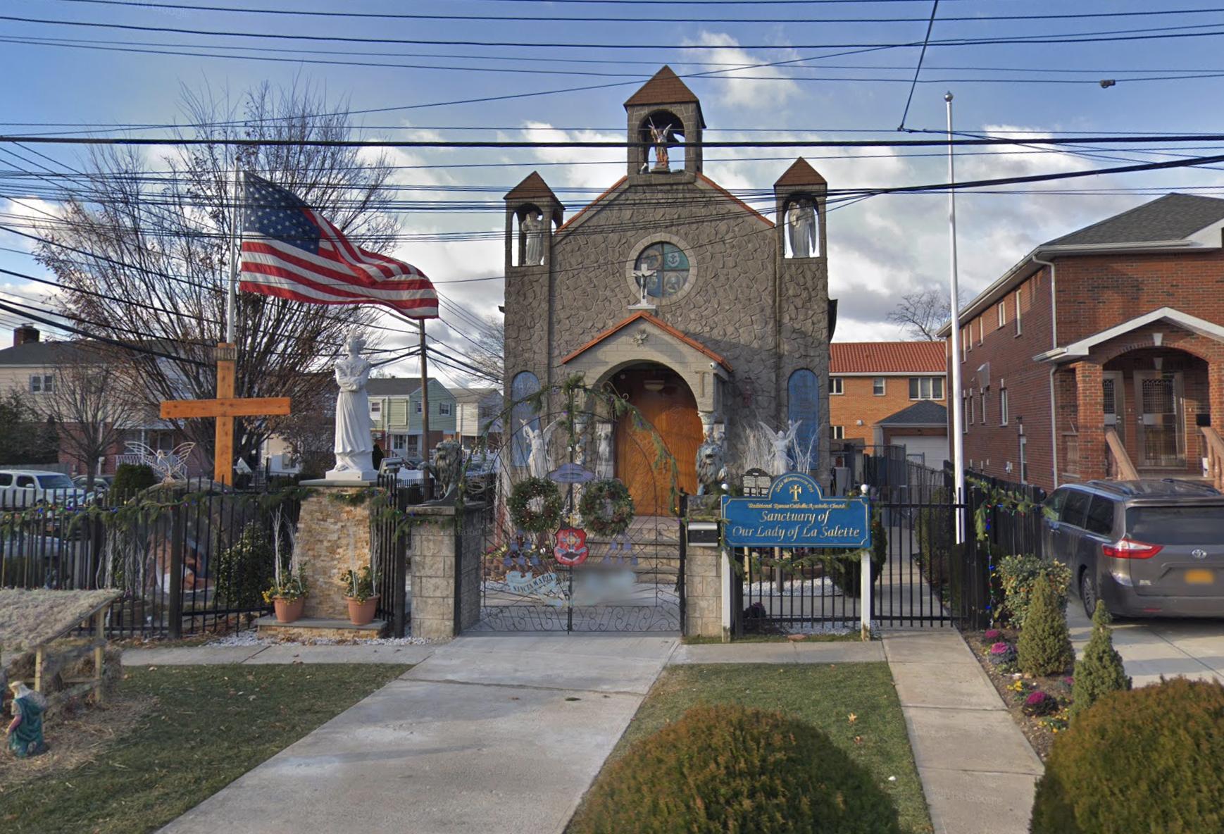 La iglesia de Milagrosa, en Queens