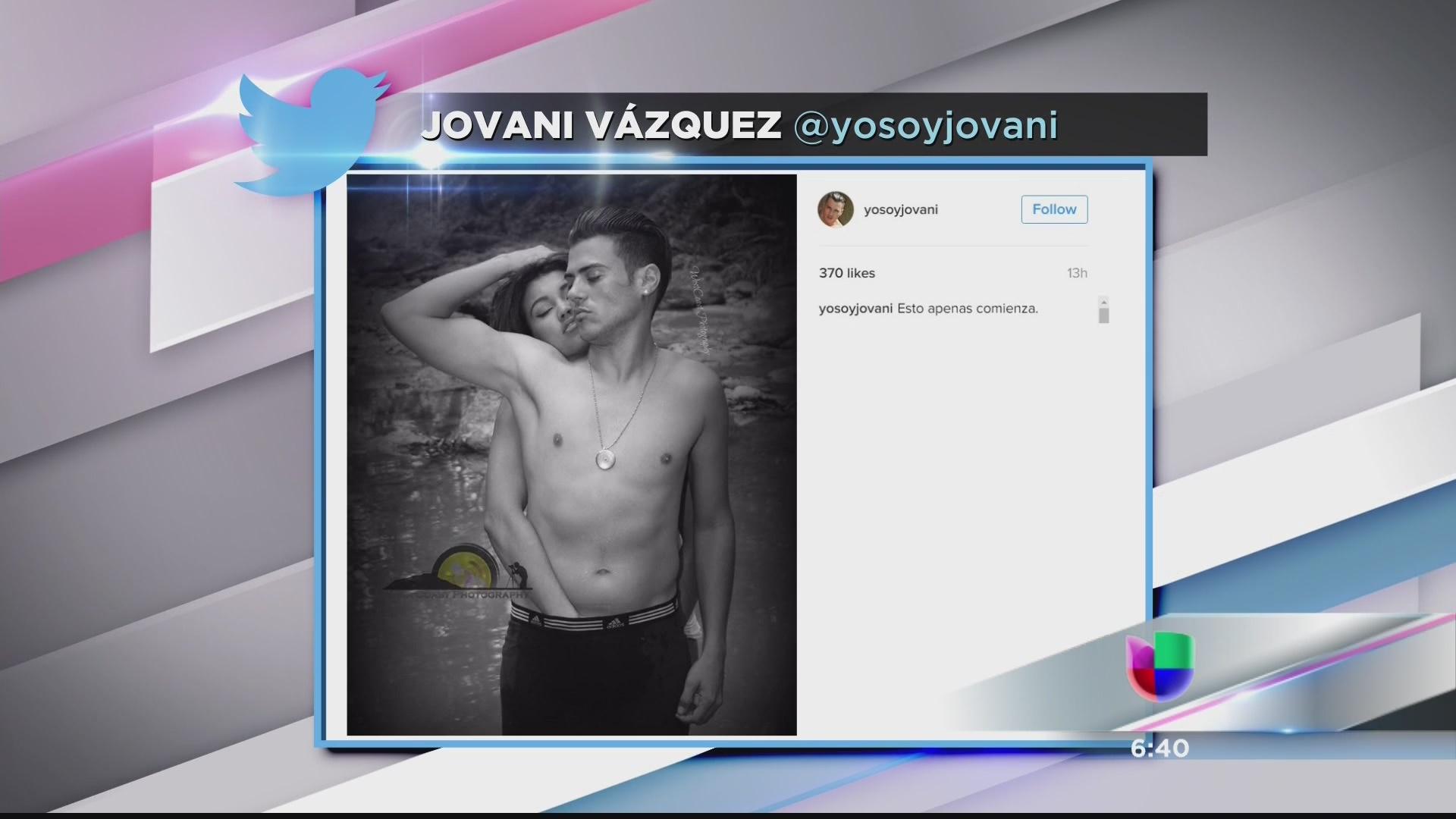 Picante Foto De Jovani Vázquez Con Zuania Vélez Video Univision