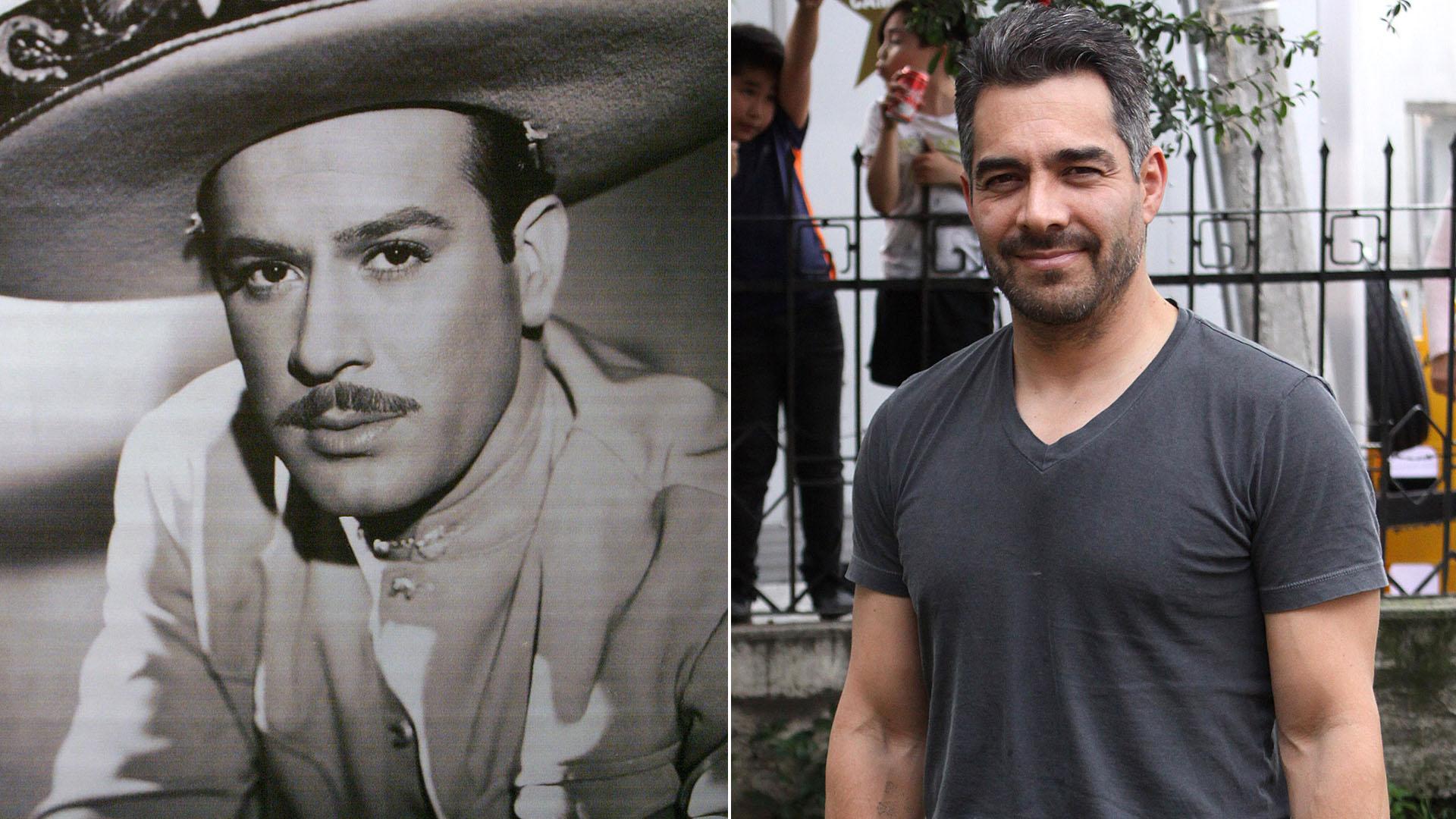 Omar Chaparro ante su gran reto: será Pedro Infante en una serie para Netflix