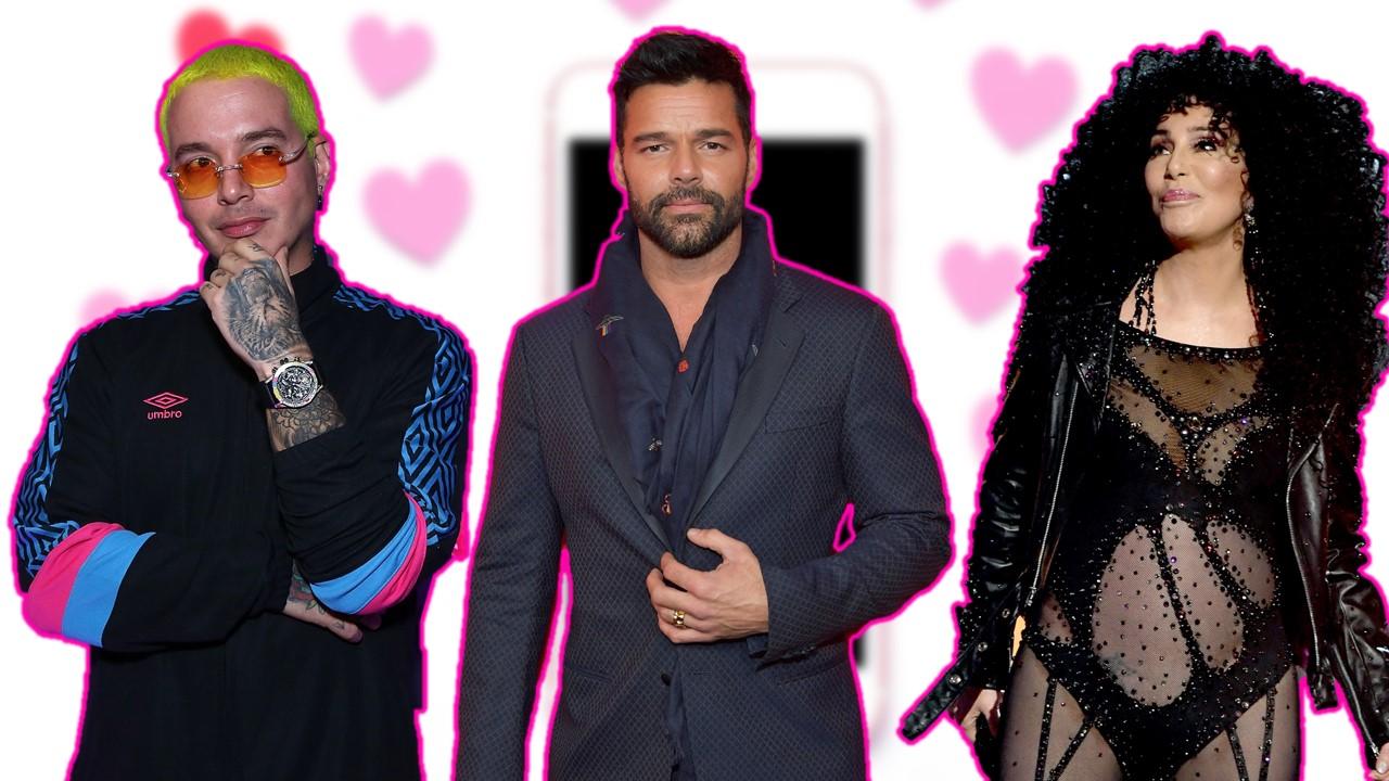 Amor en un click: estos son los famosos que han buscado a Cupido en internet