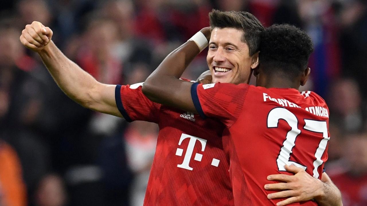 En fotos: Bayern recuperó el liderato de la Bundesliga al golear por 5-0 al Dortmund