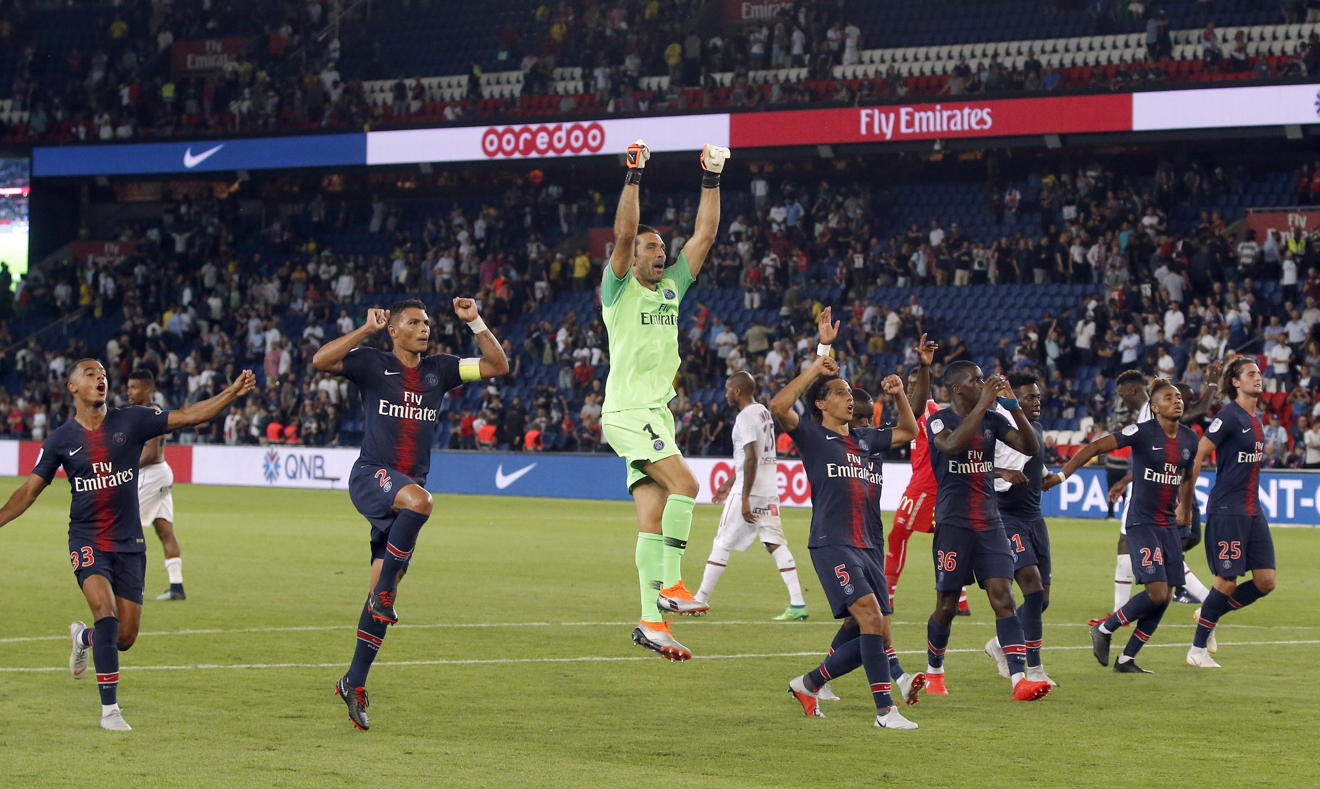En Fotos: el equipo más caro de Francia debuta con un convincente triunfo por 3-0