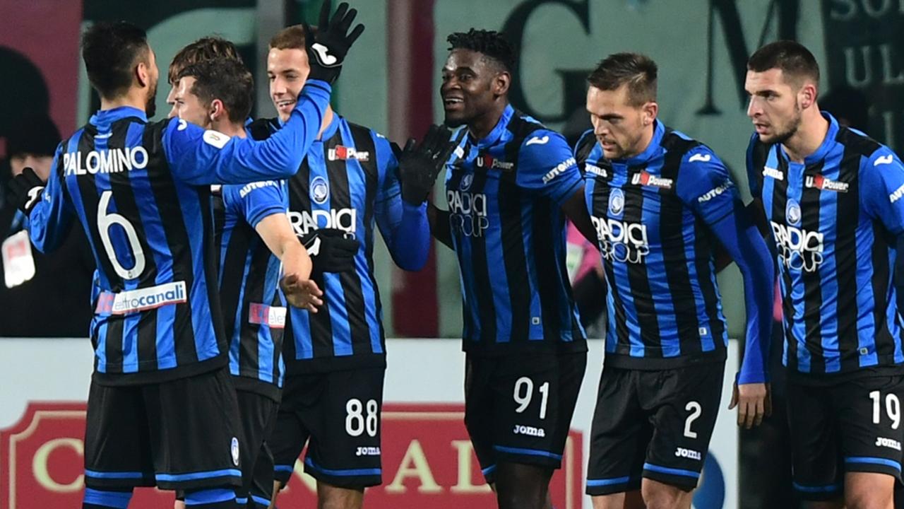En fotos: Atalanta dio el golpe y eliminó a la Juventus de la Copa con un doblete de Duván Zapata