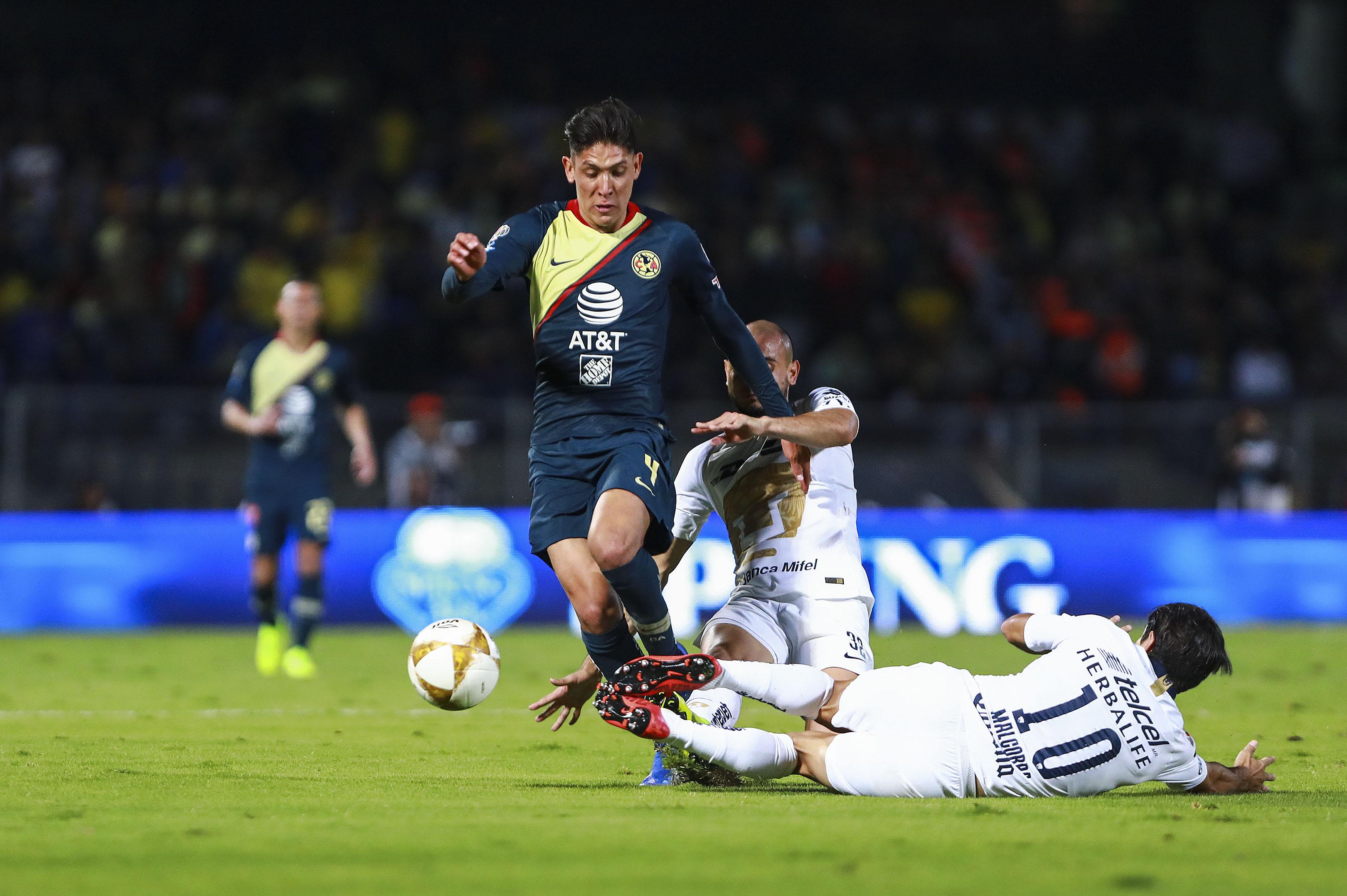 b44dec3b637 Edson Álvarez está en duda para América en la vuelta de la Semifinal ante  Pumas