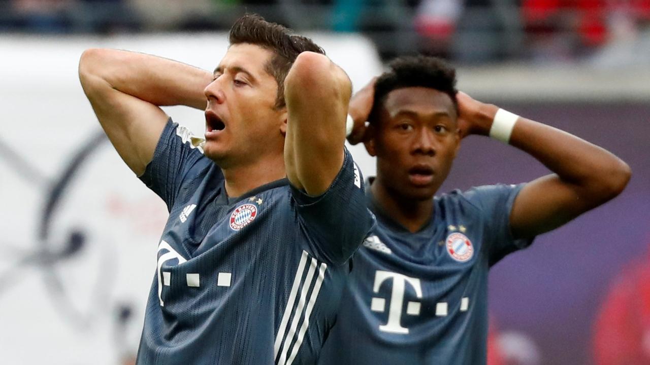 En fotos: el VAR no dejó celebrar al Bayern el título de Bundesliga en casa del Leipzig