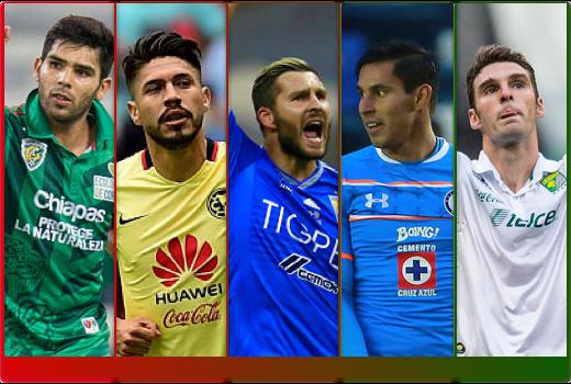 Los cinco jugadores que siguen dominando la expectativa de gol