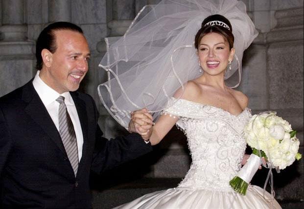 los más bonitos vestidos de novia de las famosas | famosos | univision