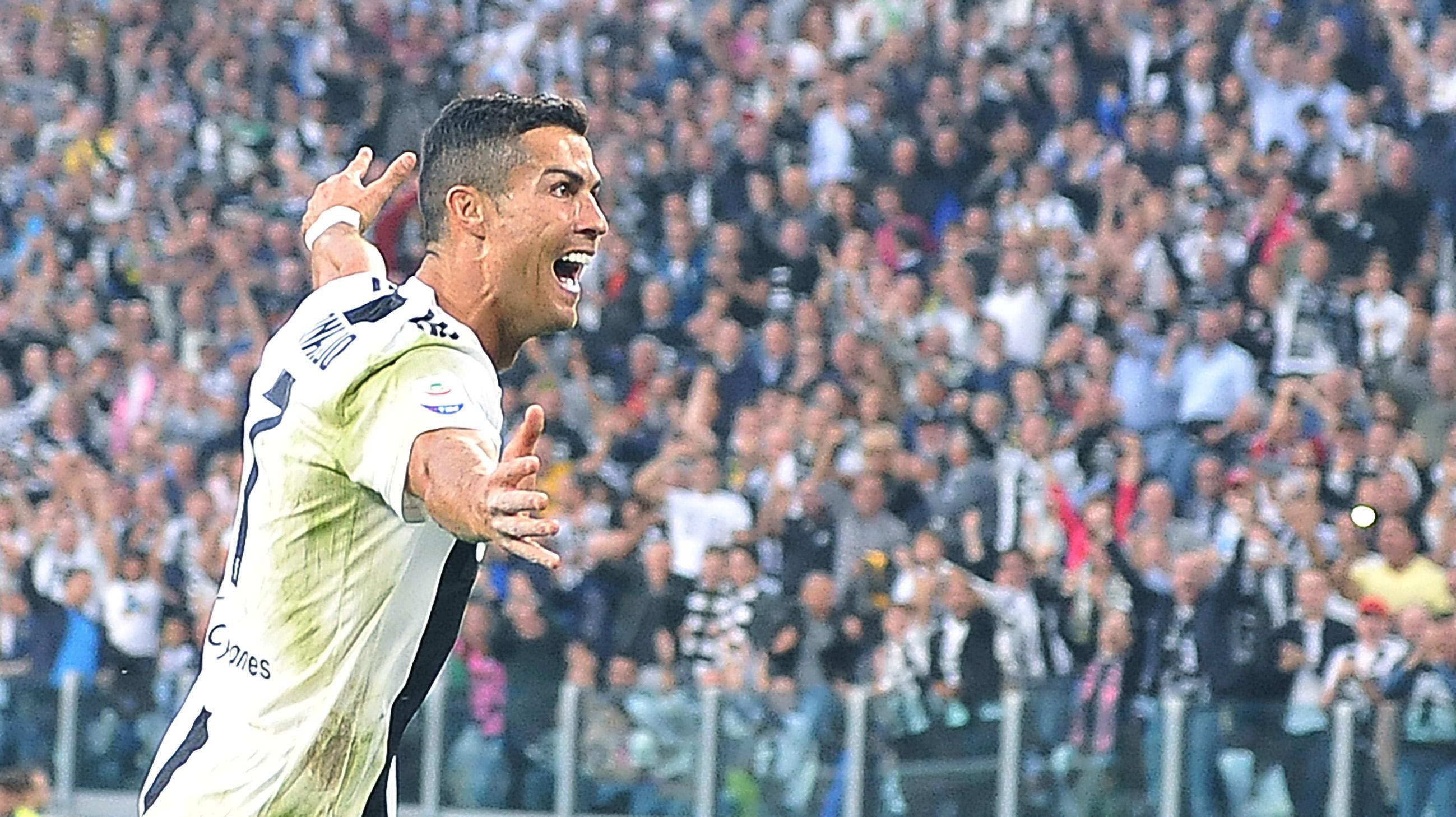 En fotos: mientras el Madrid lo extraña, Cristiano vuelve a marcar con la Juventus en la Serie A
