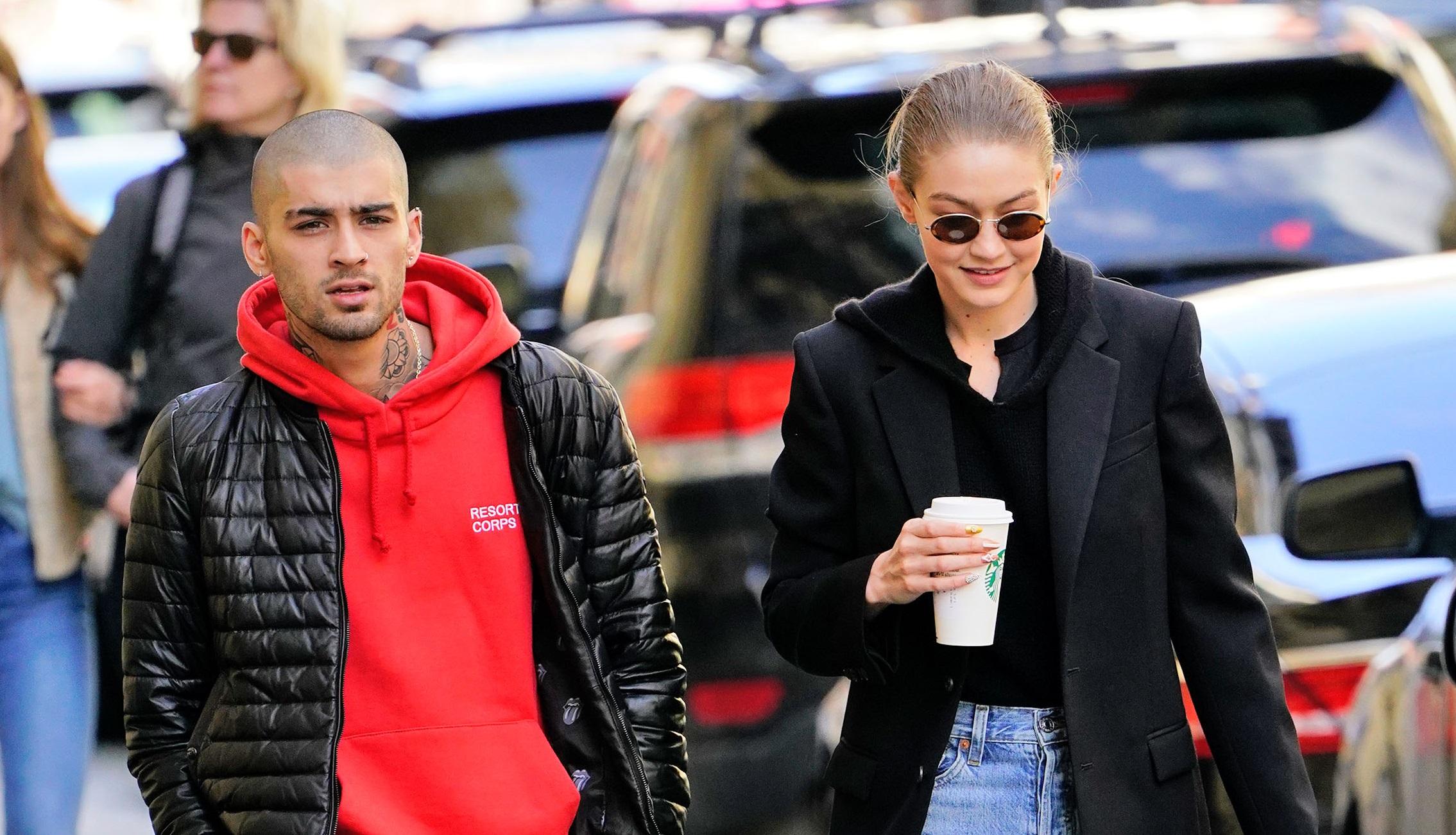 ¿Este beso anuncia el regreso de Gigi Hadid y Zayn Malik?