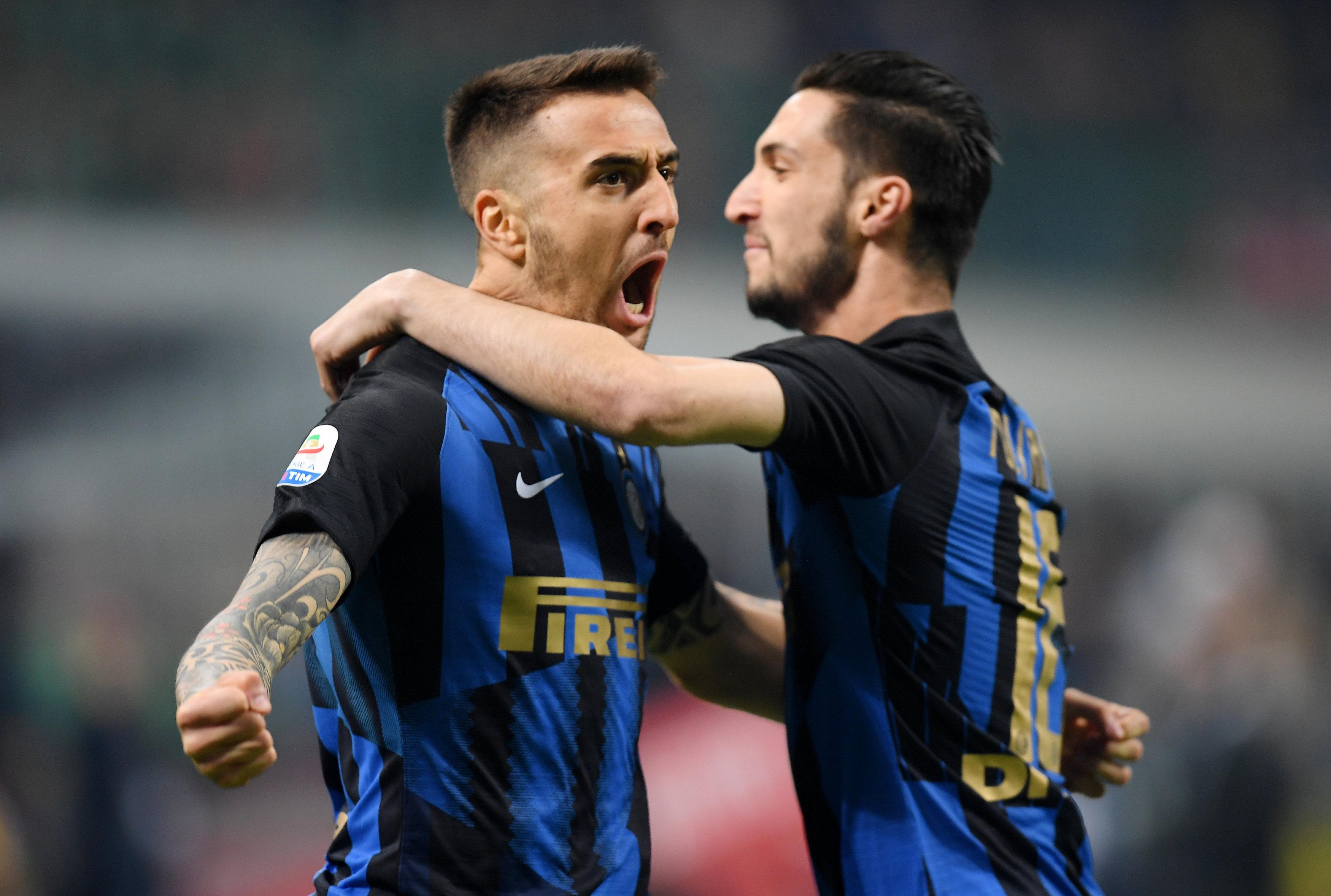 En fotos: Inter se queda con el Derbi de Milán y se consolida en puestos de Champions