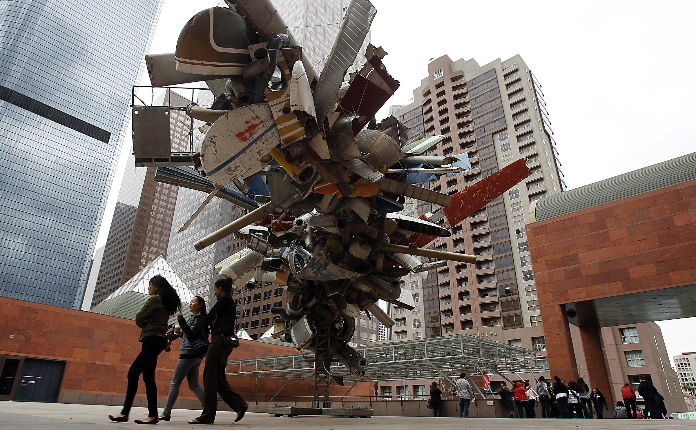 """Museo de Arte Contemporáneo de Los Ángeles, abierto en 1979. """"El trabajo de Arata Isozaki hasta ahora ha superado las seis décadas y más de cien obras construidas en Asia, Europa, América del Norte, Medio Oriente y Australia"""", se lee en el anuncio del premio Pritzker, el galardón que reconoce la obra de los más destacados arquitectos a nivel mundial."""