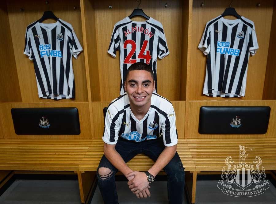 Primeras imágenes de Miguel Almirón con el Newcastle United tras conquistar la MLS con Atlanta