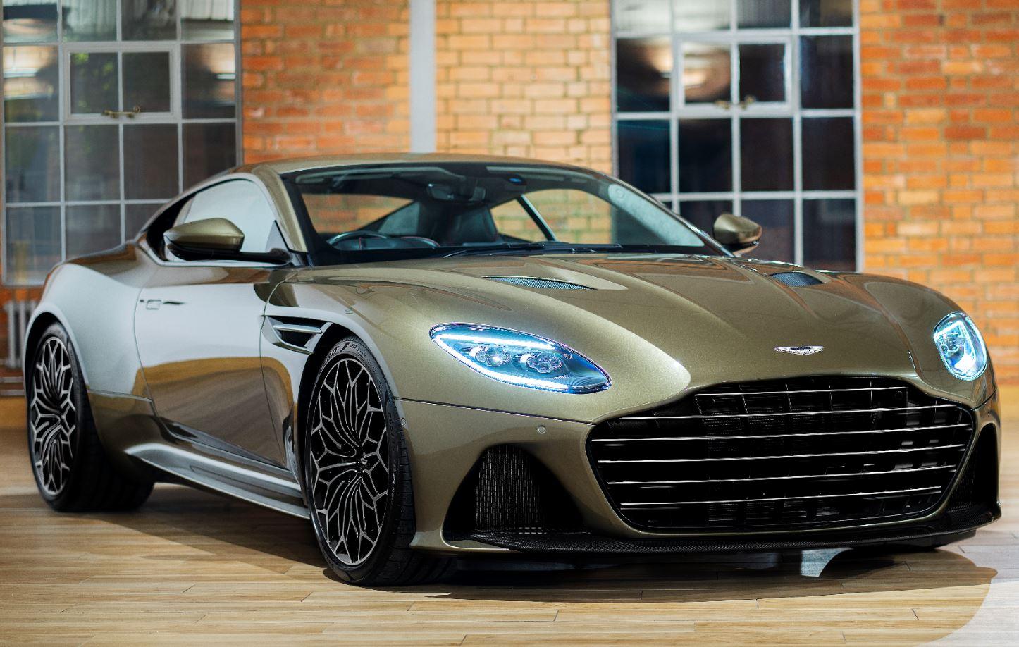 Aston Martin Celebra a James Bond con esta edición especial del DBS Superleggera
