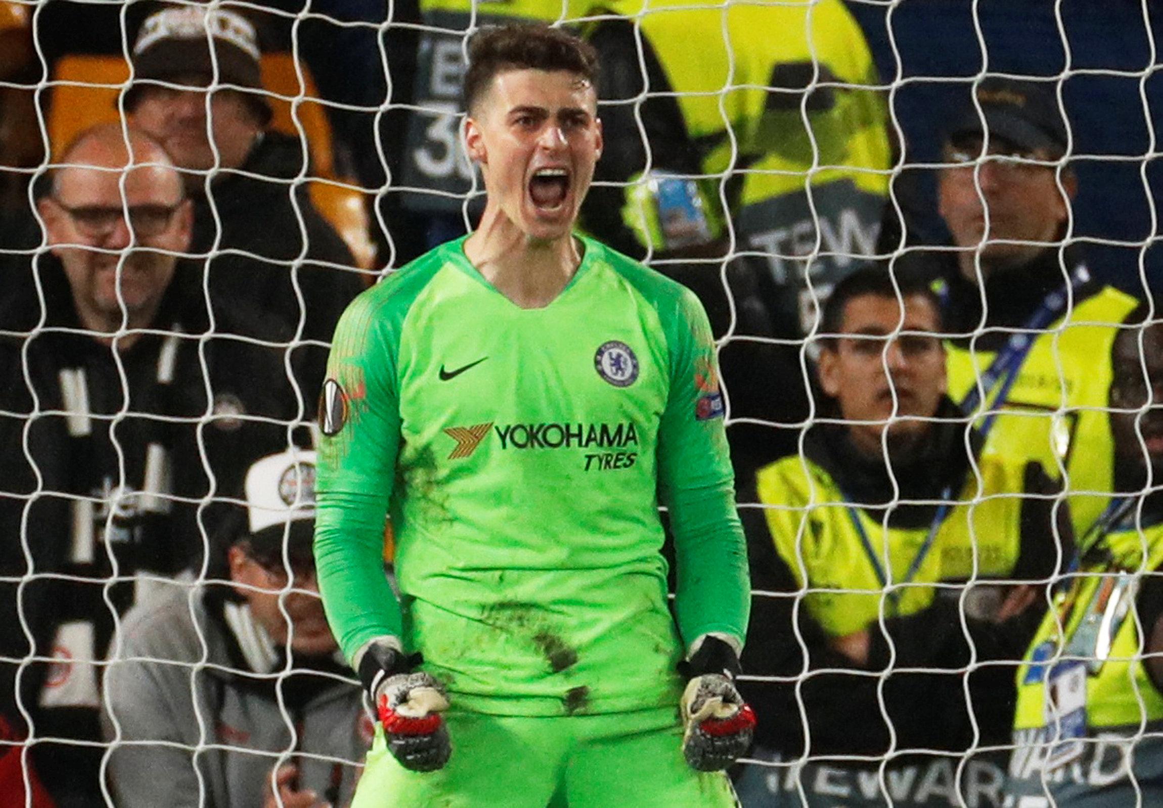 En fotos: Chelsea selló la Final inglesa en Europa League al ganar en penaltis la Semifinal