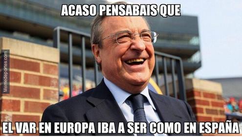 Memelogía | Las dudas del VAR con Real Madrid y los aplausos a Tottenham en Champions