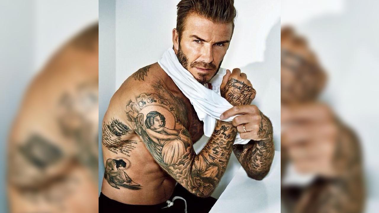 Los espectaculares tatuajes de David Beckham | Deportes Fútbol | TUDN  Univision