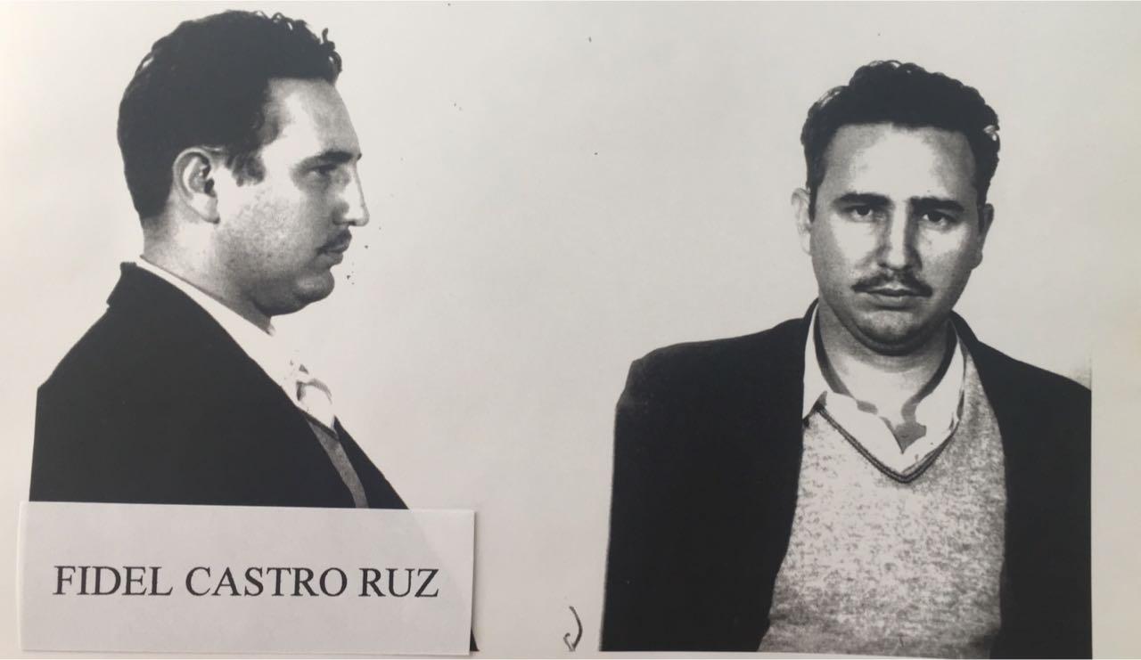 Las fichas policiacas de Fidel Castro y revolucionarios cubanos detenidos en 1956 (fotos)