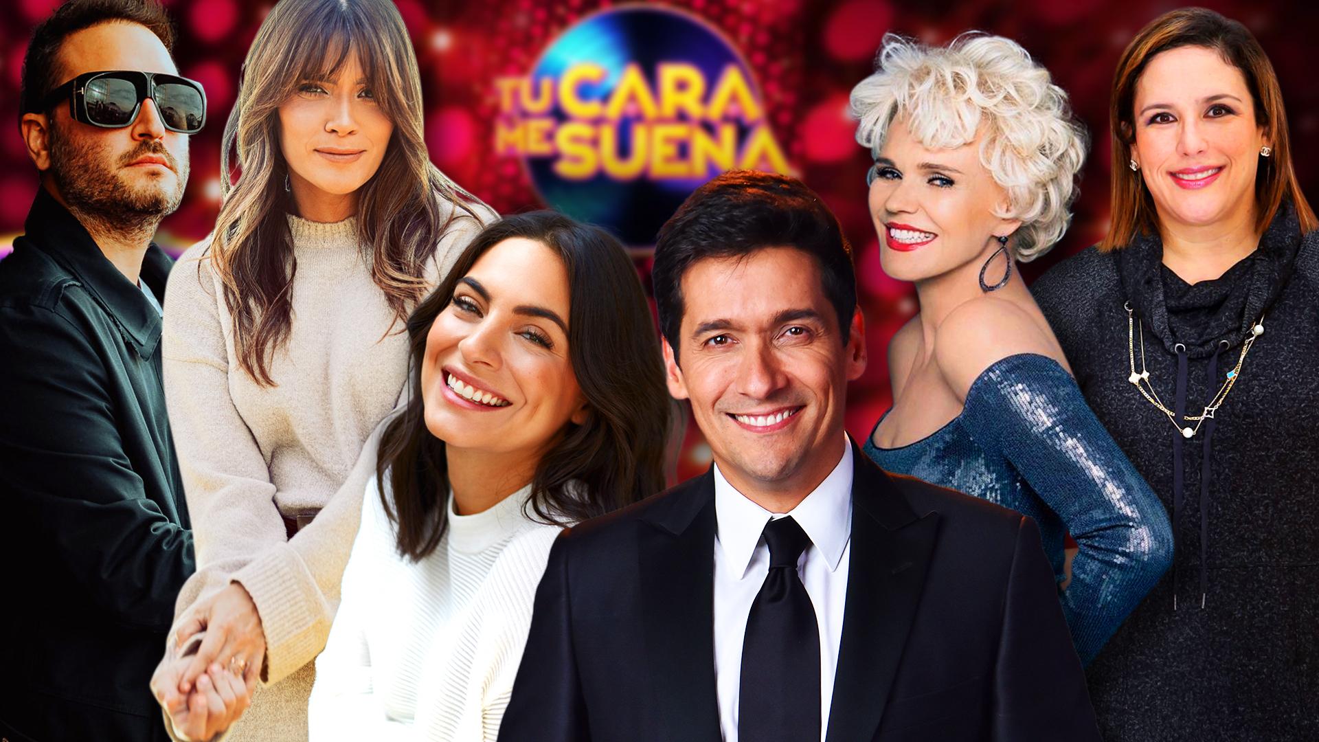 Ellos Son Los Conductores Y Jurado De Tu Cara Me Suena El Nuevo Show Dominical De Univision Realities Tu Cara Me Suena Univision