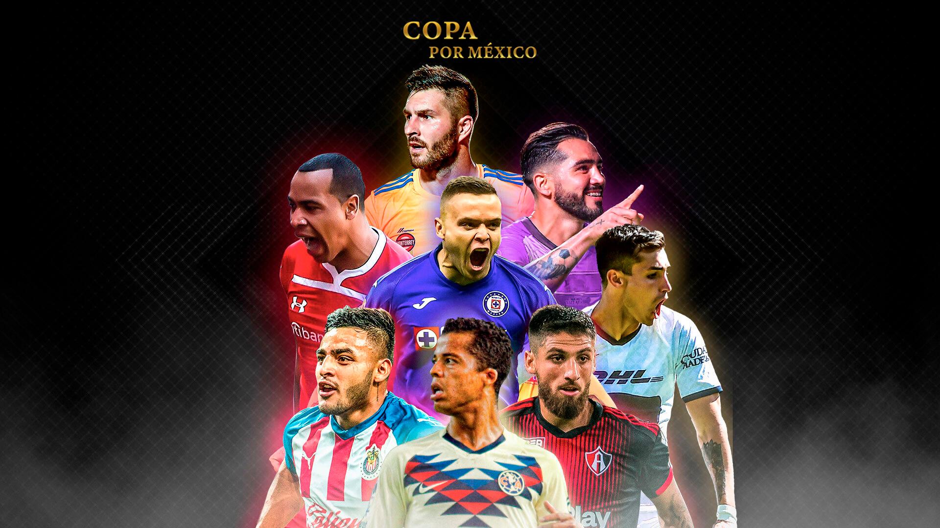 Copa por México: cómo y dónde ver los partidos del torneo amistoso ...
