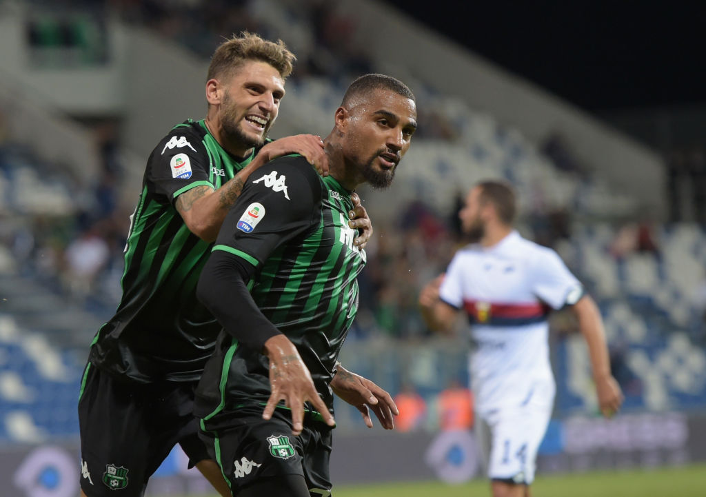 En fotos: Sassuolo cerró la tercera jornada de la Serie A como escolta de Juventus
