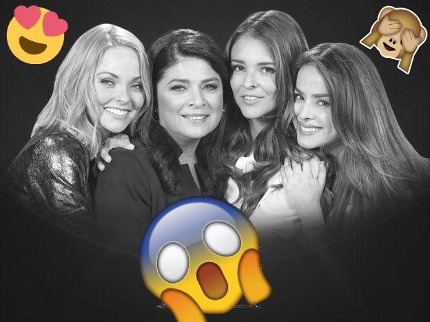 Conoce a la verdadera familia del elenco de 'Las amazonas'