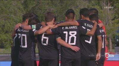 Con estos cinco goles México aplastó a Bermuda en el premundial Sub-17 de Concacaf
