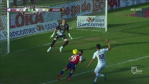 Villalba se pierde de manera incomprensible el 1-0 para Veracruz
