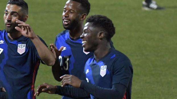 Yenus Musah, ilusionado con el futuro del Team USA