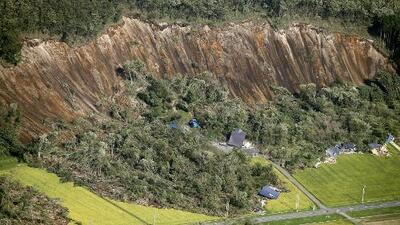 Así se escuchó el fuerte terremoto en Japón que causó deslaves mortales