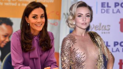 En fotos: no solo le pasa a Angelique Boyer, ahora Kate Middleton se puso una blusa al revés