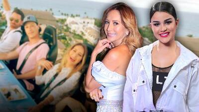Clarissa Molina y Geraldine Bazán se fueron a cenar con unos amigos al cielo (literal)