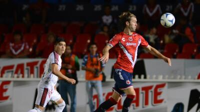 Veracruz 2-1 Lobos BUAP: Lidera Veracruz Grupo Siete de Copa MX al vencer a Lobos BUAP 2-1