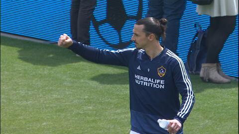"""Zlatan y el duelo ante Sporting KC: """"Espero que el partido no sea tan loco como el anterior"""""""