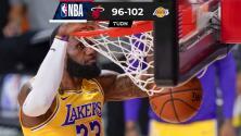 Lakers se pone a un juego de ganar las NBA Finals