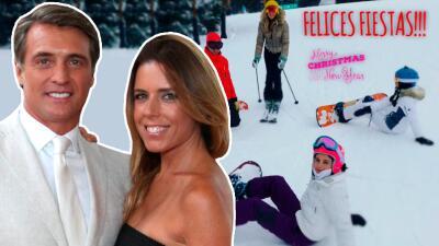 Maki y Juan Soler juntos otra vez, al menos en sus vacaciones navideñas
