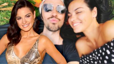 Maite Perroni presume romántico beso con su novio Koko Stambuk en redes sociales