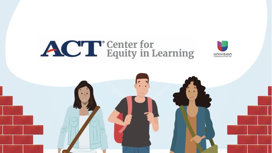 El Centro para la Equidad en el Aprendizaje de ACT y Univision se unen para investigar y apoyar a los estudiantes hispanos