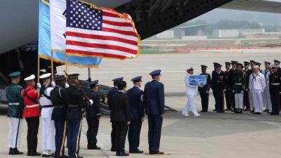 Pyongyang entrega a Estados Unidos restos de soldados muertos en la guerra de Corea
