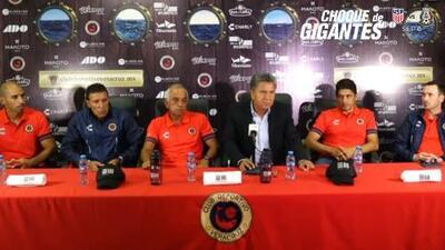Veracruz presenta a Enrique López Zarza como su nuevo técnico