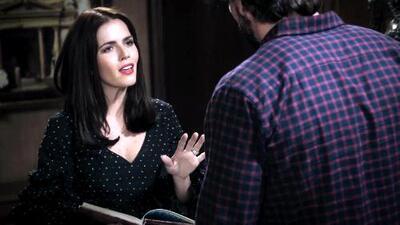 'En tierras salvajes' - Isabel trató de abofetear a Daniel tras una discusión - Escena del día