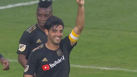 Capitán, líder y goleador, Carlos Vela brilla en victoria del LAFC