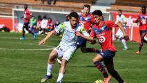 Eugenio Pizzuto juega en triunfo del Lille B sobre el Valenciennes B