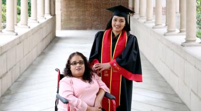 En fotos: se recuperó de un terrible accidente para darle a su mamá el mejor regalo