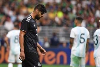 En fotos: México pierde 4-0 ante Argentina en partido amistoso